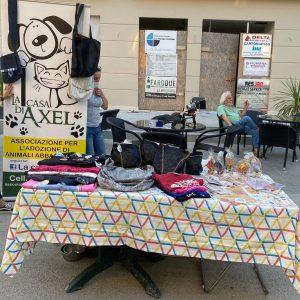 banchetto gadget donazioni